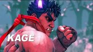 Street Fighter V Arcade Edition - Kage Reveal Trailer
