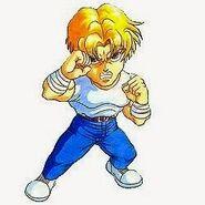Mighty Final Fight Art Cody