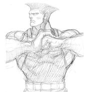 SFIV PC Concept Art Guile 05