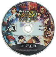 SSFIV Arcade Edition PS3 Disc