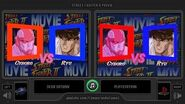 Street Fighter II Movie (Sega Saturn vs Playstation) Side by Side Comparison