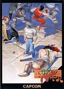 North American arcade flyer for Final Fight