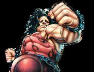 Character select Hugo USF4