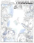 Chun-Li and Cammy comic