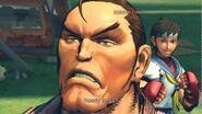 (Super) Street Fighter IV (AE) - Dan's Rival Cutscene English Ver