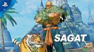 Street Fighter V Arcade Edition – Sagat Gameplay Trailer PS4
