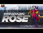 SFV- Character Introduction Series - Rose