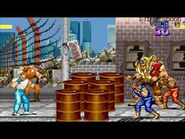 Final Fight Arcade Multiplayer Gameplay