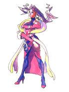 Rose artwork Street Fighter Alpha Warriors' Dreams