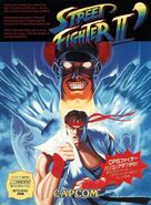 COVER-Street Fighter II dash - Sharp X68000