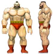 SFIV PC Concept Art Zangief 01