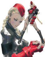 Street Fighter Zero 3 - Wonder Showcase Plus-Red