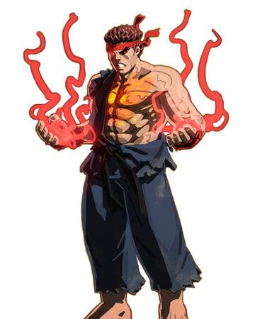 Evil Ryu Street Fighter Wiki Fandom