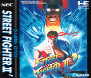COVER-Street Fighter II dash