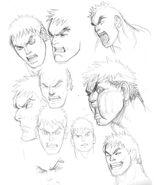 SFIV PC Concept Art Ryu 11
