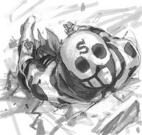 Skullomania-sfex-black-n-white-fanart-by-bet10co10-japan