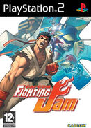 Capcom Fighting Jam PS2 cover