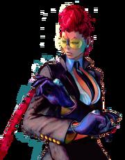 Character select portrait Crimson Viper SFIV.png