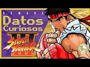 Curiosidades de Street Fighter 3 -- Remake