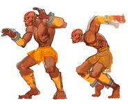 SFIV PC Concept Art Dhalsim 05