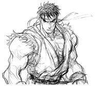 Super Street Fighter II X Art Ryu 1