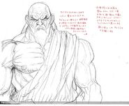 SFIV PC Concept Art Gouken 08
