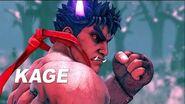 Street Fighter V- Arcade Edition - Kage Reveal Trailer