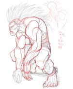 SFIV PC Concept Art Blanka 04