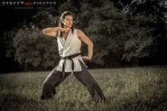 Street Fighter-- Assassin's Fist - young Gouken fighting posture (Shogen)