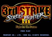 SFIII 3rd Strike - title screen