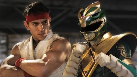 Green Ranger vs. Ryu