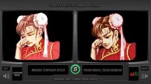 Street Fighter II (Arcade vs Sega Genesis) Continue Screens Comparison