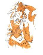 Rose-night-dress-artwork-Street Fighter Alpha Warriors' Dreams