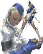 Street Fighter Zero 3 - Wonder Showcase Plus-Blue