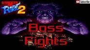 Streets of Rage 2 All Boss Fights Montage