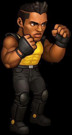 Adam Hunter Battle Pose SEGA Heroes.png