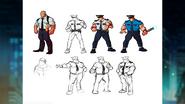 SOR4 Police Enemies Concept Art