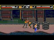 Street of Rage Gameplay Sega Genesis Multiplayer
