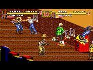 Street of Rage 2 Gameplay Sega Genesis Multiplayer