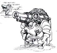 Str2 armored gunner concept