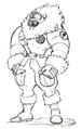 Str2 antarctic guard muscle