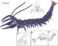 NewStrider millipede art