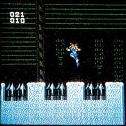 Prerelease content in Strider (NES)