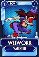 Skullgirls wetwork fighter card