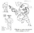 Str2 antarctic guard muscle concept
