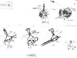 Flying Turret (unused variants)