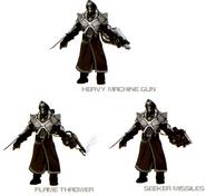 StrHD heavy soldier variations