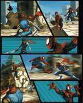 MvC2 feature hiryu vs spiderman