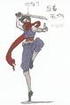 Biohazard Rev2 Concept Guide Strider Hiryu-style Moira