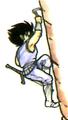 Arc stickerart sickle